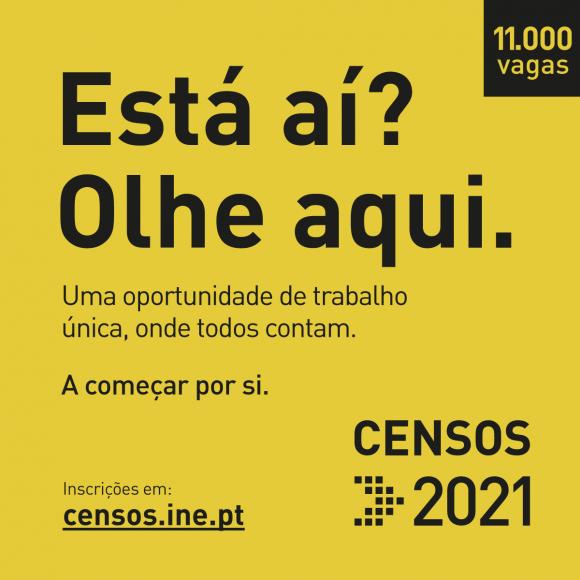 CENSOS 2021   Recrutamento