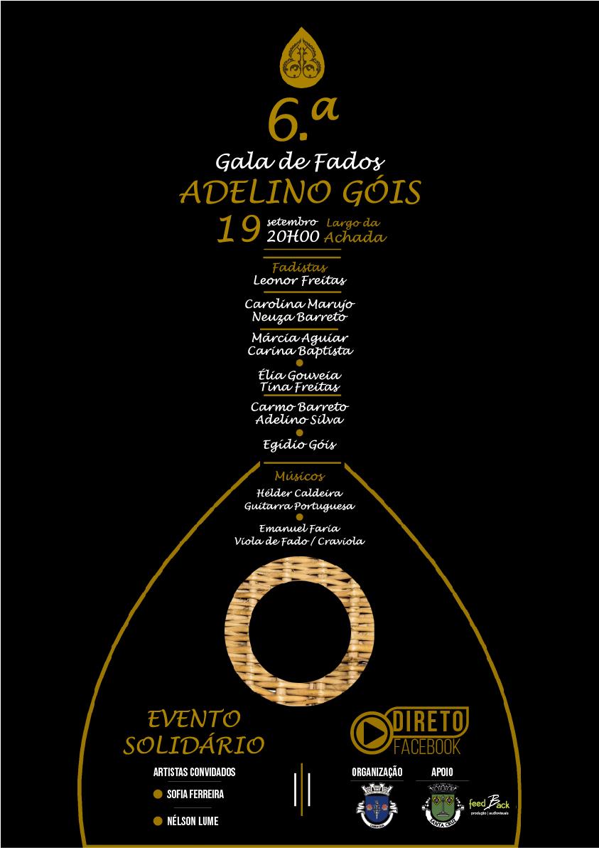 6.ª Gala de Fados Adelino Góis